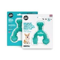 Tasty Bone Dental Trio Peppermint Dog Chew Toy - Small