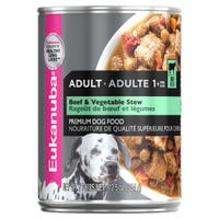 Eukanuba Adult Beef and Vegetable Stew Wet Dog Food - 354g