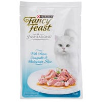 Fancy Feast Inspirations Tuna, Courgette and Rice Wet Cat Food - 70g