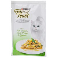 Fancy Feast Inspirations Chicken, Pasta and Spinach Wet Cat Food - 70g