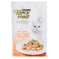Fancy Feast Inspirations Salmon, Spinach and Courgette Wet Cat Food - 70g