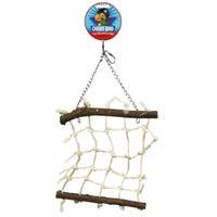 Cheeky Bird Natural Rope Lattice Bird Toy - Small