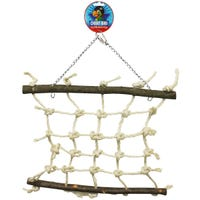 Cheeky Bird Natural Rope Lattice Bird Toy - Large