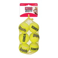 KONG AirDog Squeaker Ball Dog Toy - 6pk