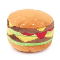 FuzzYard Hamburger Dog Toy - Each