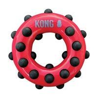 KONG Dotz Circle Dog Chew Toy - Small