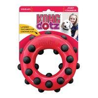 KONG Dotz Circle Dog Chew Toy - Large