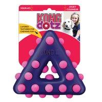 KONG Dotz Triangle Dog Chew Toy - Large
