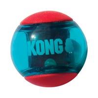 KONG Squeezz Action Medium Ball Dog Toy - 3pk