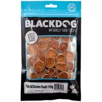 Blackdog Fish and Chicken Sushi Dog Treats - 150g