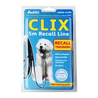 Company Of Animals Clix Recall Line 5m Dog Lead- Each