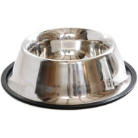 Canine Care Stainless Steel Spaniel Dog Bowl - Each