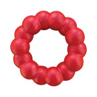 KONG Ring Rubber Dog Toy - Small