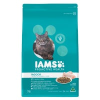 Iams Feline Adult Indoor Weight and Hairball Care Chicken Dry Cat Food - 3kg