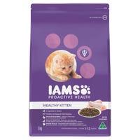 Iams Feline Kitten Chicken Dry Cat Food - 3kg