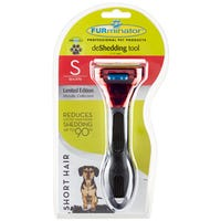 FURminator deShedding Short Hair Dog Brush - Small
