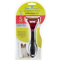 FURminator deShedding Long Hair Dog Brush - Small