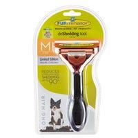 FURminator deShedding Long Hair Dog Brush - Medium
