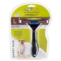 FURminator deShedding Short Hair Dog Brush - Large