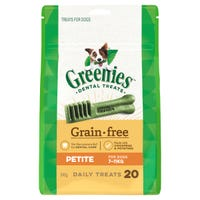Greenies Grain Free Petite Dental Dog Treats - 20pk