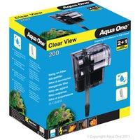Aqua One ClearView 200 Aquarium Filter - Each