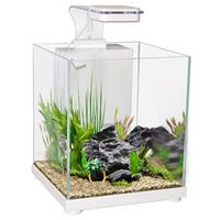 Aqua One Betta Sanctuary White Fish Tank - 10L