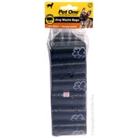 Pet One Dog Waste Bags - 12pk