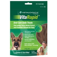 Vetalogica VitaRapid Dog Oral Care Chicken and Duck - 210g