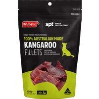 Prime100 Single Protein Kangaroo Fillet Dog Treats - 100g