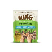 WAG Green Lipper Mussel Dog Treats - 50g