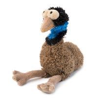 FuzzYard Oz Emu Plush Dog Toy - Small