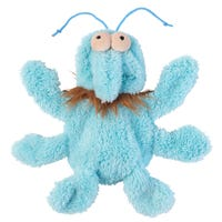 FuzzYard Flat Out Nasties Scratch the Flea No Stuffing Dog Toy - Each