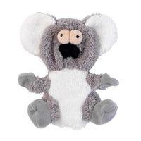 FuzzYard Flat Out Nasties Kana Koala No Stuffing Plush Dog Toy - Each