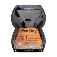 Rufus & Coco WeeKitty Corn Clumping Cat Litter - 2kg