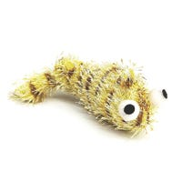 Pounce N Play Vibrating Worm Beige Cat Toy - Each