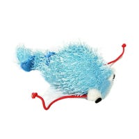 Pounce N Play Vibrating Worm Blue Cat Toy - Each