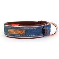 EzyDog Collar Classic Denim Dog Collar - Large
