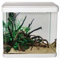 Aqua One LifeStyle Aquarium 32cm White Fish Tank - 21L