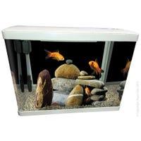 Aqua One LifeStyle Aquarium 60cm White Fish Tank - 76L