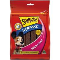 Schmackos Strapz Liver Dog Treats - 500g
