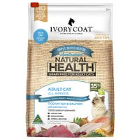 Ivory Coat Adult Cat Grain Free Ocean Fish and Salmon Indoor Dry Cat Food - 6kg