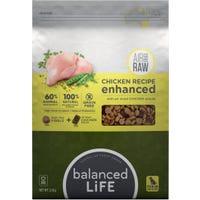 Balanced Life Enhanced Chicken Recipe Dry Dog Food - 2.5kg