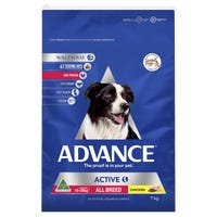 Advance Adult All Breed Active Chicken Dry Dog Food - 7kg