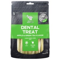 Billy & Margot Apple and Green Tea Sticks for Small/Medium Breeds Dog Treats - 5pk