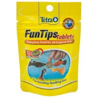 Tetra Fun Tips Tablets Fish Food - 20pk