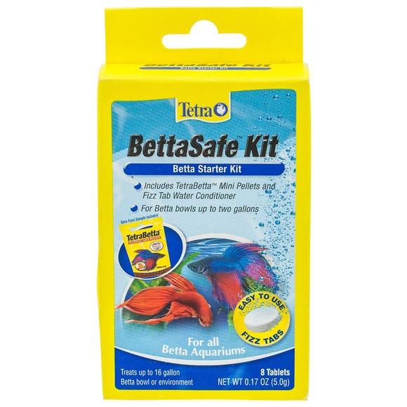 Tetra Betta Safe Starter Kit Fish Food 8pk Best Friends Pets