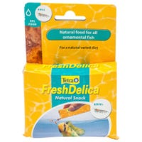 Tetra Fresh Delica Krill Fish Food - 48g