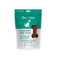 Bell & Bone Flaxseed and Turmeric Superfood Dog Treats - 150g