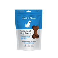 Bell & Bone Coconut and Chia Superfood Dog Treats - 150g