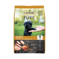 Canidae Dog Grain Free Puppy Pure Found Chicken, Lentil & Whole Egg Dry Dog Food - 10.8kg
